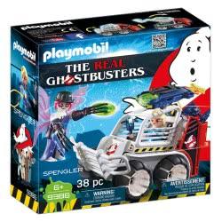 Playmobil Δρ. Σπένγκλερ με όχημα-κλουβί 9386 4008789093868