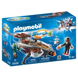 Playmobil Sykronian Space Glider with Gene 9408 4008789094087