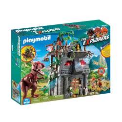 Playmobil Αρχηγείο Των Explorers Και Τ-Ρεξ 9429 4008789094292