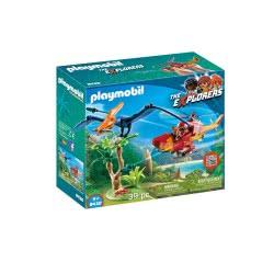 Playmobil Ελικόπτερο Και Πτεροδάκτυλος 9430 4008789094308