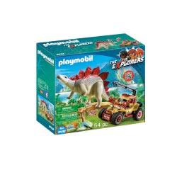 Playmobil Εξερευνητικό Όχημα Και Στεγόσαυρος 9432 4008789094322
