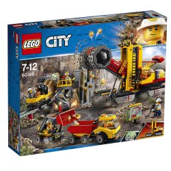 LEGO City Εγκατάσταση Ειδικών Εξόρυξης Χρυσού 60188 5702016109535
