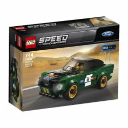 LEGO Speed Champions 1968 Ford Mustang Fastback 75884 5702016109054
