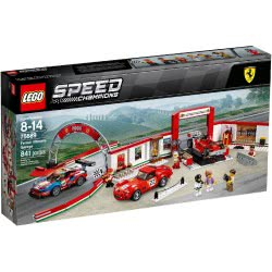 LEGO Speed Champions Ferrari Ultimate Garage 75889 5702016110302