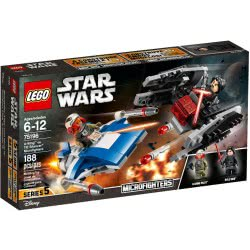 LEGO Star Wars A-Wing Εναντίον TIE Silencer Microfighters 75196 5702016109900