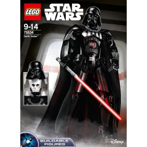 New Lego Set 75534 Star Wars Darth Vader Buildable Figure Factory Sealed NISB