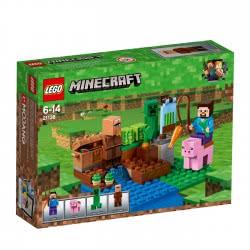 LEGO Minecraft Η Φάρμα με τα Πεπόνια 21138 5702016108927