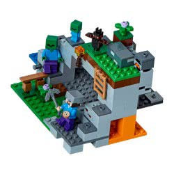 LEGO Minecraft Η Σπηλιά των Ζόμπι 21141 5702016109597