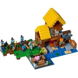 LEGO Minecraft Το Σπιτάκι της Φάρμας 21144 5702016109627