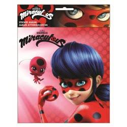 GIM Miraculous Ladybug Άλμπουμ Για Αυτοκόλλητα 774-56191 5204549105874
