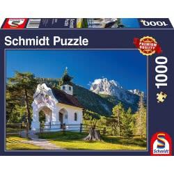 Schmidt Puzzle 1000 pcs Bavarian Chapel 58318 4001504583187