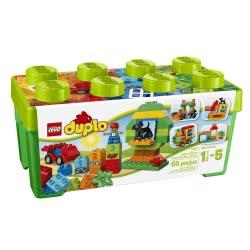 LEGO DUPLO Creative Play Κουτί Διασκέδασης Όλα-Σε-Ένα 10572 5702015115551