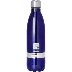 eco life Stainless Steel INOX Water Bottle Double Walled 750Ml, Purple 33-BO-3002 5208009001126