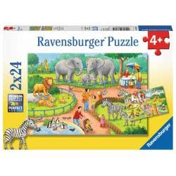 Ravensburger Παζλ 2x24 τεμ. Ζωολογικός Κήπος 07813 4005556078134
