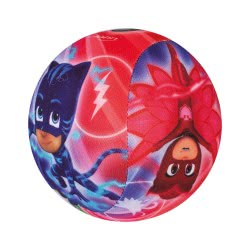 John Soft Ball 100mm PJ Masks with Bell - 2 designs 52890B 4006149528906