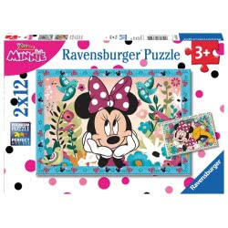 Ravensburger Παζλ Minnie Mouse 2x12 τεμ. 07619 4005556076192