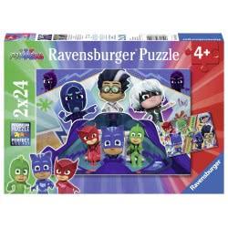 Ravensburger Παζλ PJ Masks 2x24 τεμ. 07824 4005556078240