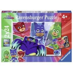 Ravensburger Παζλ 2x24 τεμ. PJ Masks 07825 4005556078257