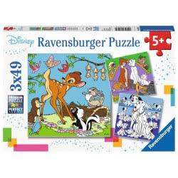 Ravensburger Παζλ 3x49 τεμ. Ήρωες Disney 08043 4005556080434