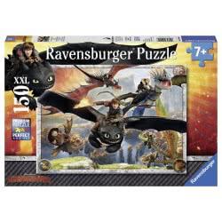 Ravensburger Παζλ 150XXL τεμ. Πως να Εκπαιδεύσετε το Δράκο σας: Δράκοι 10015 4005556100156