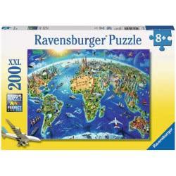 Ravensburger Παζλ 200XXL Τεμ. Ο Κόσμος 12722 4005556127221