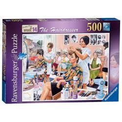 Ravensburger Παζλ 500 τεμ. Κομμωτήριο The Hairdresser (Trevor Mitchell) 14780 4005556147809