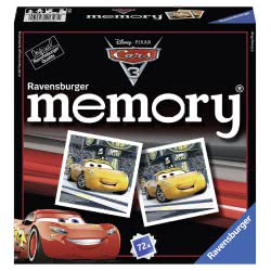 Ravensburger Επιτραπέζιο Μνήμης Memory Cars 3 21347 4005556213474