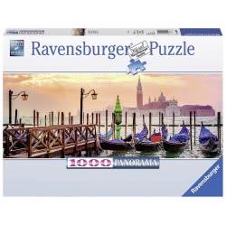 Ravensburger Puzzle 1000 pcs Gondalas in Venice Panorama 15082 4005556150823
