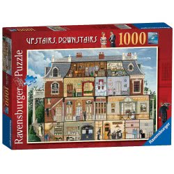 Ravensburger Upstairs Downstairs 1000 pieces 19802 4005556198023