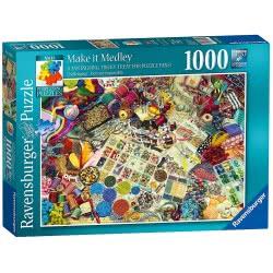 Ravensburger Puzzle 1000 pcs Perplexing Make it Medley 19824 4005556198245