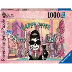 Ravensburger Παζλ 1000 τεμ. Ευτυχισμένη Σύζυγος, Ευτυχισμένη Ζωή 19831 4005556198313