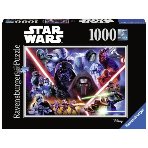 Ravensburger Puzzle 1000 Pcs Star Wars Collection Limited Edition 5 19886 4005556198863