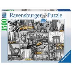 Ravensburger Παζλ 1500 τεμ. Νέα Υόρκη 16354 4005556163540
