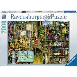 Ravensburger Παζλ 2000 τεμ. Colin Thompson: Τρελό Εργαστήριο 16642 4005556166428