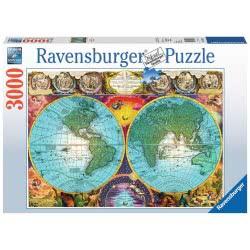Ravensburger Παζλ 3000 τεμ. Ιστορικός Χάρτης 17074 4005556170746