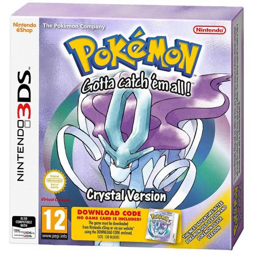 Nintendo 3DS Pokemon Crystal Version  045496477004