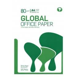 A&G PAPER Χαρτί Α4 Φωτοτυπικό 80Gr 500 Φύλλα Global Office 15683 5602007598402