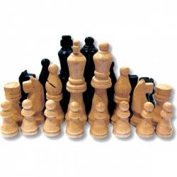 Remoundo Πιόνια Ξύλινα Για Σκάκι Σε Κουτί Π.000.417 5204153000312