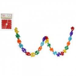 OEM Carnival Garland Paper Square 4 meters 273115 8027501673115