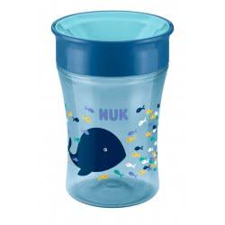 NUK Magic Cup 250Ml Εκπαιδευτικό Ποτηράκι 8+Μηνών - 3 Χρώματα 10255248 4008600213260