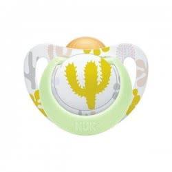 NUK Genius Color Πιπίλα Καουτσούκ ,Από 0 Έως 6 Μηνών 10725050 4008600223634