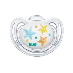NUK Freestyle Ορθοδοντική Πιπίλα Σιλικόνης 0-6 Μηνών - 4 Σχέδια 10729760 4008600182795