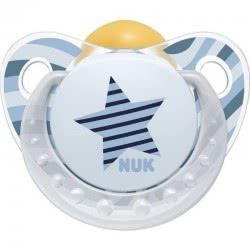 NUK Trendline Adore Latex Pacifier 6-18 months - 2 designs 10733258 4008600252856