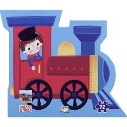 ΨΥΧΟΓΙΟΣ Το Τρένο - Βιβλίο Και Παζλ - (72 Τμχ.) 20208 9786180122299