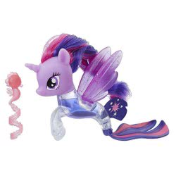 Hasbro My Little Pony The Movie Twilight Sparkle Flip & Flow Seapony E0188 / E0714 5010993463923