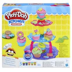 Hasbro Play-Doh Πύργος Με Κεκάκια Cupcake Tower A5144 5010993343676