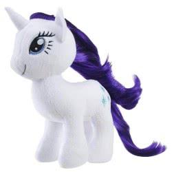 Hasbro My Little Pony Rarity Μικρό Μαλακό Λούτρινο E0032 / E0437 5010993454310
