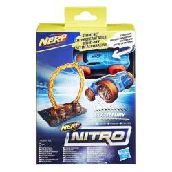Hasbro NERF Nitro Barrel Flamefury Stunt Set Αυτοκινητάκι με ράμπα εκτόξευσης E0153 / E1269 5010993447138