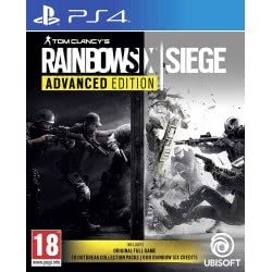 UBISOFT PS4 Tom Clancy`s Rainbow Six: Siege Advanced Edition  3307216054757
