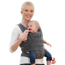 Chicco Baby Carrier Boppy Comfy, Grey P15-79949-47 8058664093700
